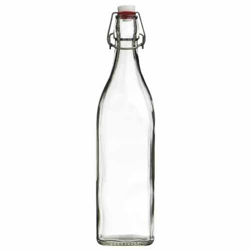 Glass Water Bottle (1L)