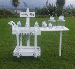 Candy Bar Cart