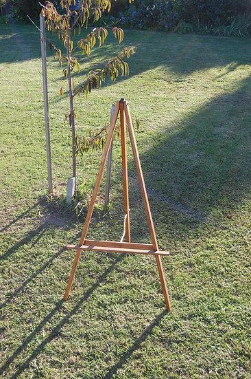 A Frame wood easel