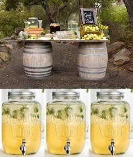 Wine Barrel Bar Options