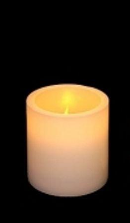 LED Real Wax Candles