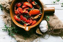 Sudnsol gemarineerde tomaten