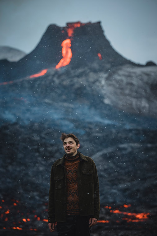 Farmers Market - Volcano Eruption Icelan