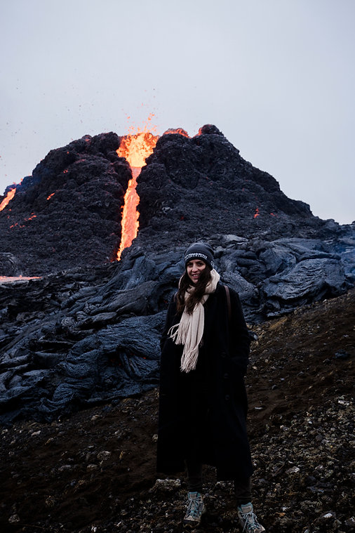 Volcano Eruption Iceland 2021