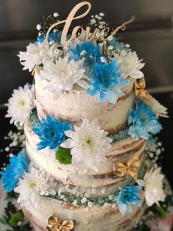 WeddingCake bleu