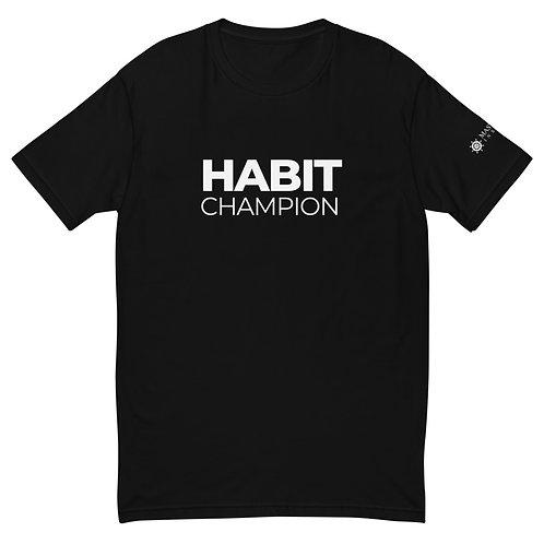 Habit Champion T-Shirt (Black)