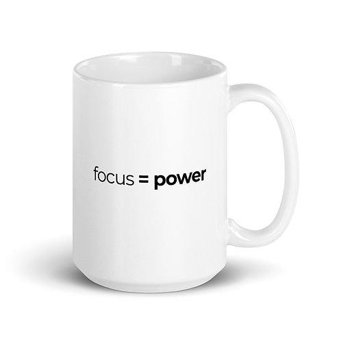 Focus = Power T-Shirt Mug