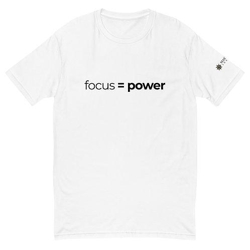 Focus = Power T-Shirt (White)