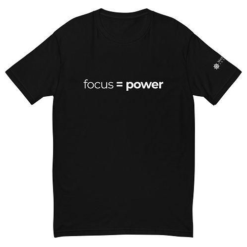 Focus = Power T-Shirt (Black)