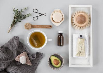 Produits de bien-être naturopathie