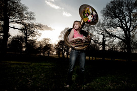 Caroline Mabey by Idil Sukan Sousaphone 2
