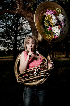 Caroline Mabey by Idil Sukan Sousaphone1