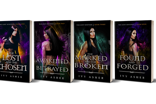 The Lost Sentinel Series Signed Paperbacks
