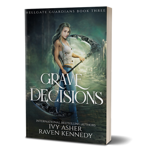 Grave Decisions Signed Paperback