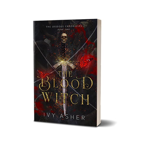 The Blood Witch Signed Paperback