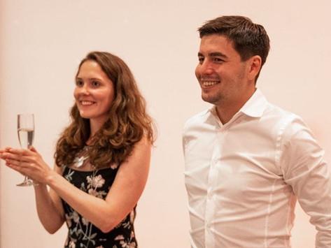 Поздравляем Максима Каюмова и его супругу с бракосочетанием!