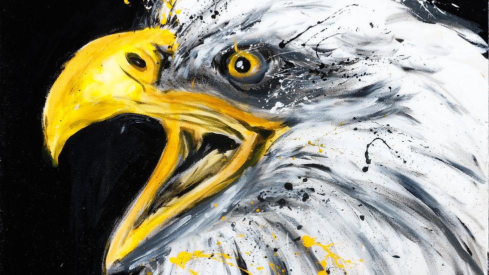 Liberty en reproduction sur Acrylique