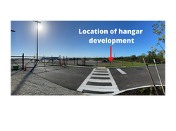 Location of hangars