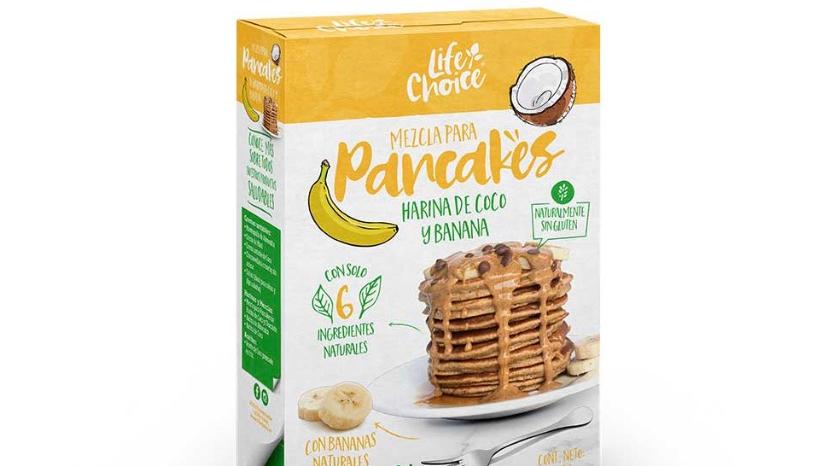 Mezcla para pancake de banano Life Choice