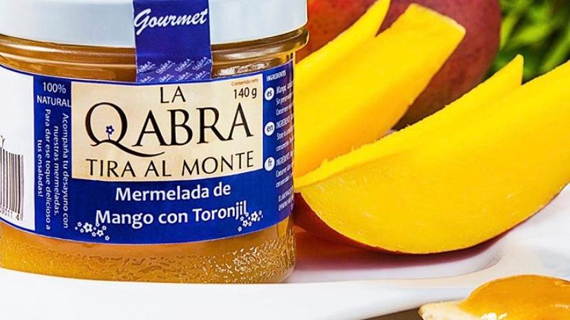 Mermelada de mango con toronjil La Qabra tira al monte
