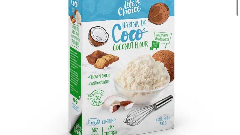 Harina de coco Life Choices