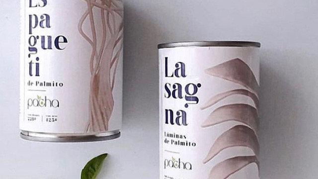 Espagueti y Lasagna de palmito