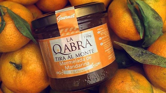 Mermelada de mandarina La qabra tira al monte