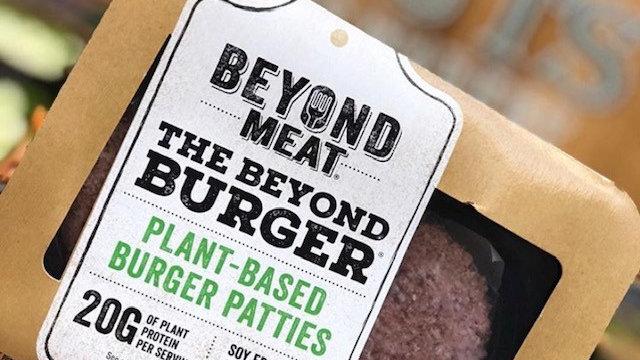 Hamburguesas veganas Beyond Meat
