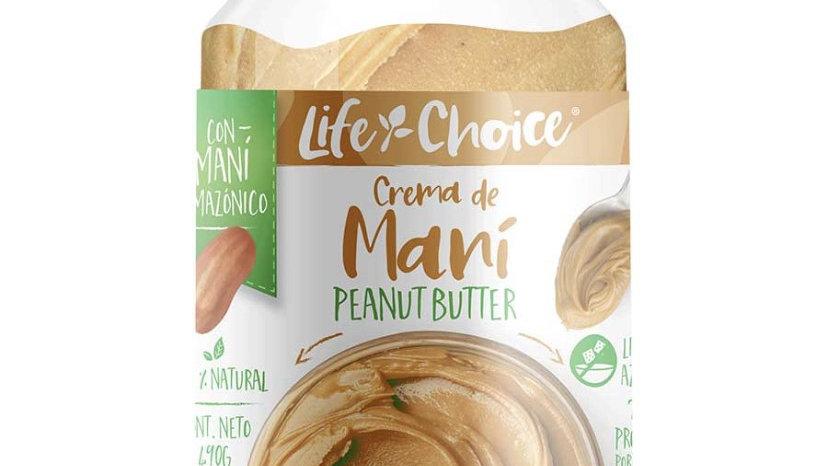 Mantequilla de maní 480 gr Life Choice