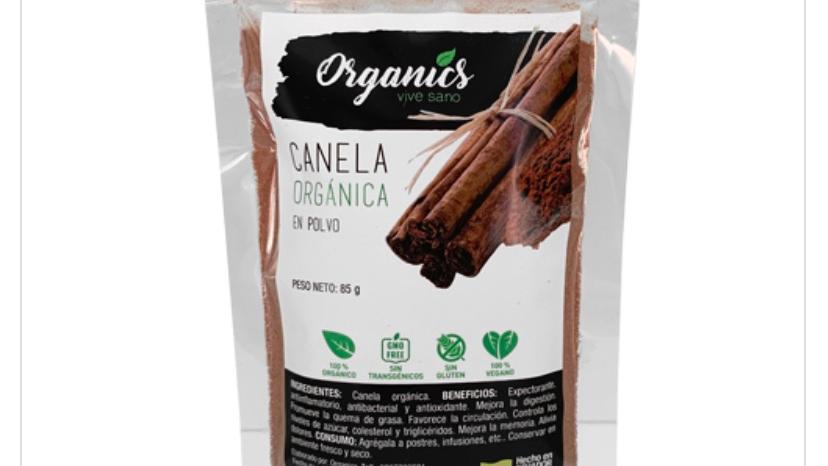 Canela en polvo Organics
