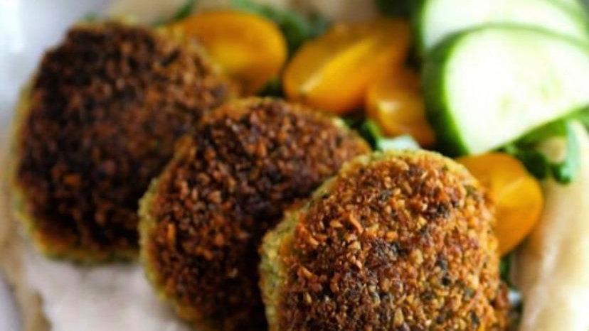 Falafels Las Veggie Burgers