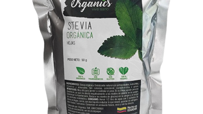 Stevia en hoja Organics