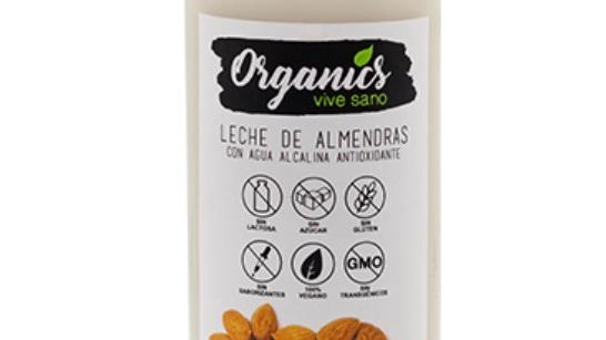Leche de almendras Organics