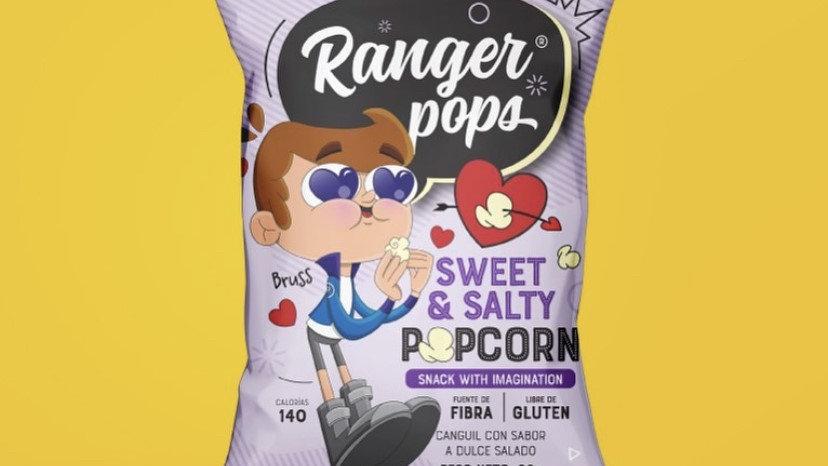 Canguil dulce Ranger pops