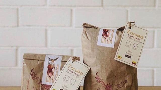 Café molido o en grano La Mula Ciega
