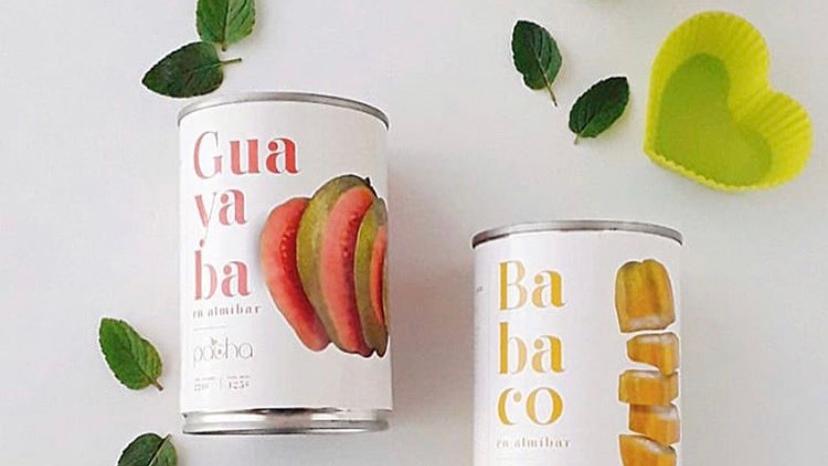 Guayaba y Babaco en almíbar Pacha Foods