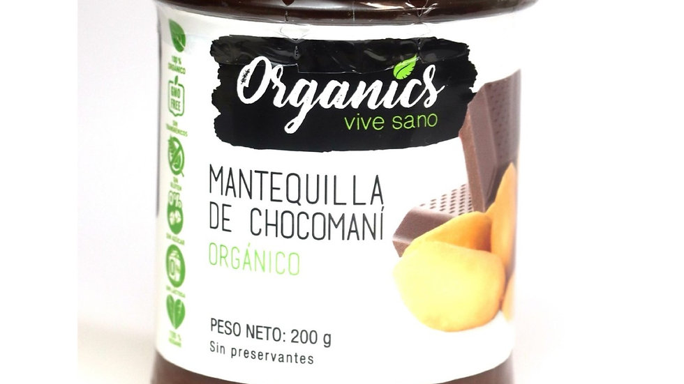 Mantequilla chocomaní Organics