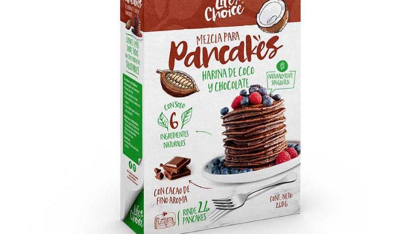 Mezcla pancake chocolate Life Choice