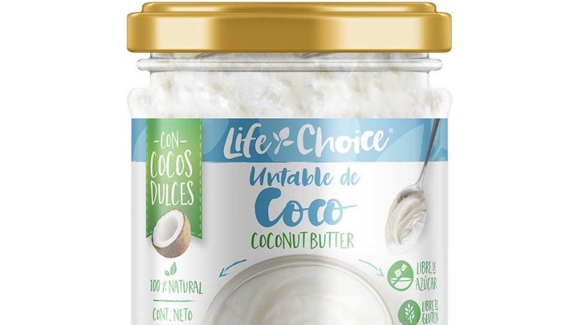 Mantequilla de coco Life Choice