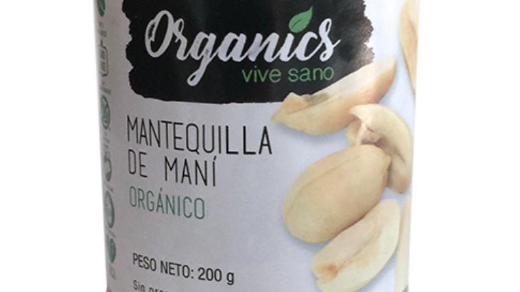 Mantequilla de maní orgánico Organics