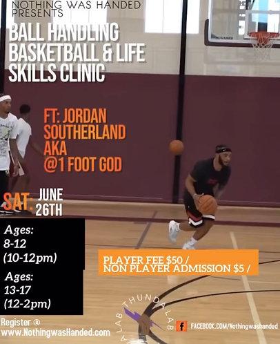 Ball handling Basketball & Life Clinic