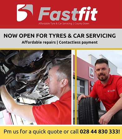 fastfit NI servicing opening times county d