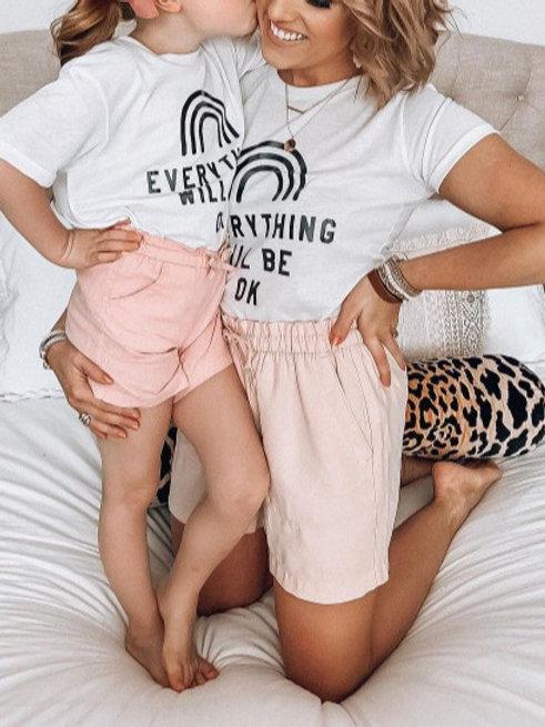 Everything Will be OK Ladies T-Shirt