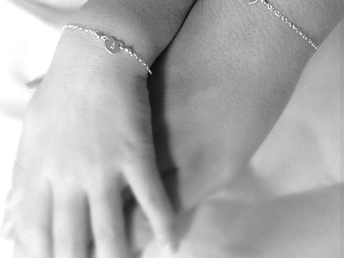 Sterling Silver Personalised Mommy & Me Set