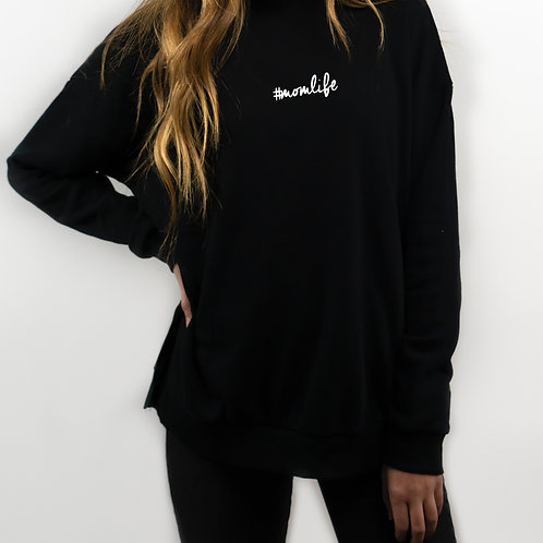 #Momlife Sweater [Cursive]