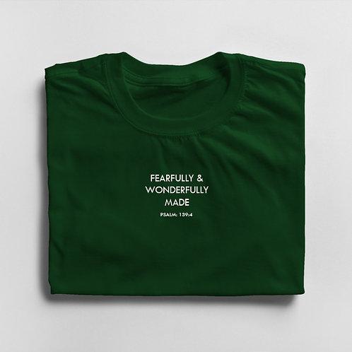 Girls Fearfully & Wonderfully Made T-shirt