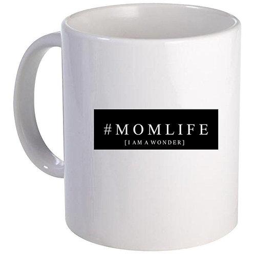 #Momlife Blocked Coffee Mug