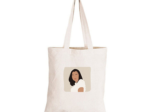 Personalised Illustration & Eco Cotton Tote Bag