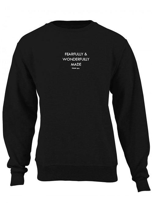 Fearfully & Wonderfully Made Sweater