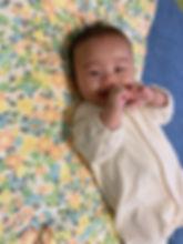 出産祝いに頂き、生後1ヶ月頃から愛用しています☺️ お昼寝や寝返り練習にもぴったりです💖